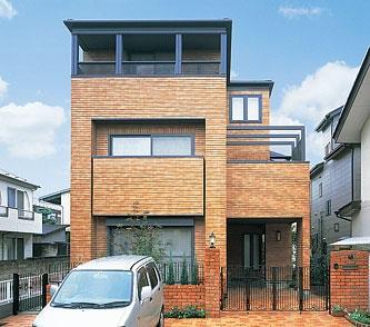 将来の三世代同居に備えた三階建