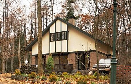 自然を堪能する週末の別荘