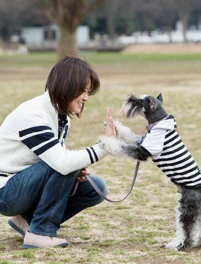 愛犬を受け入れて、純粋な心とつきあっていく