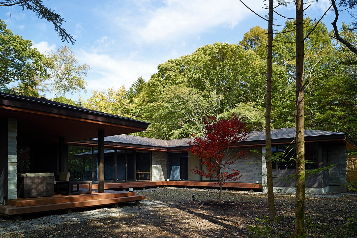 Villa In Forest 08:外観