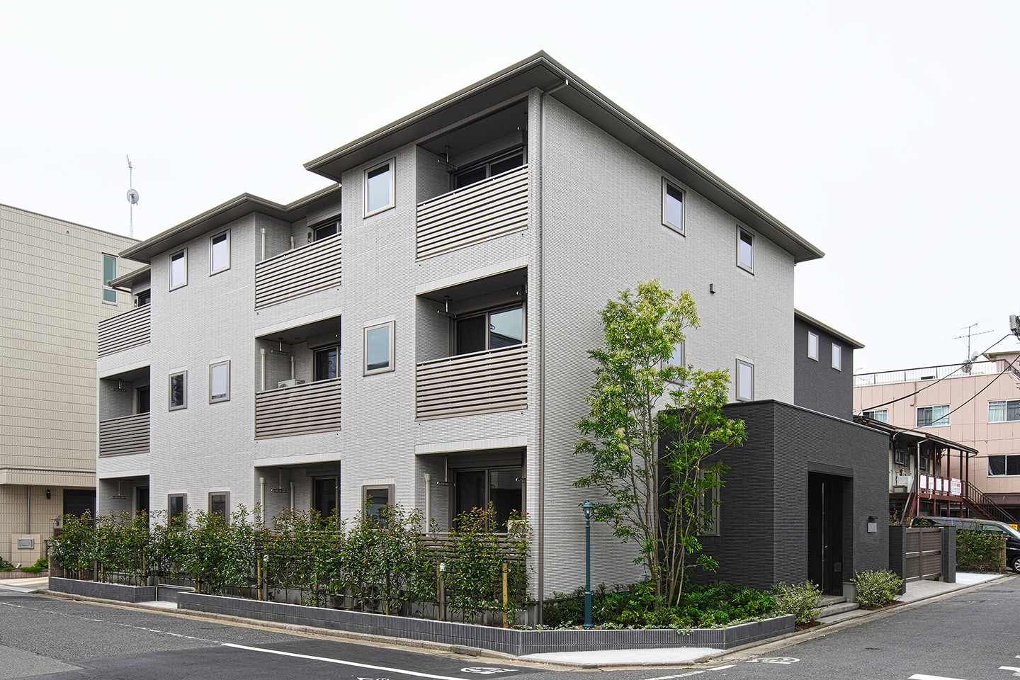Apartment house II(D-rest ikegami):外観