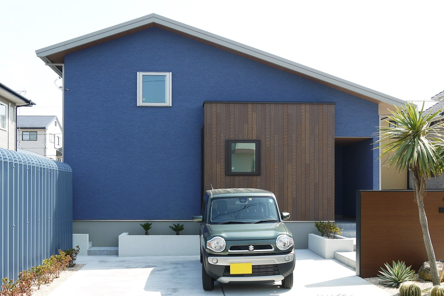 Blue,White & Woody Bungalow  in 房総半島:外観