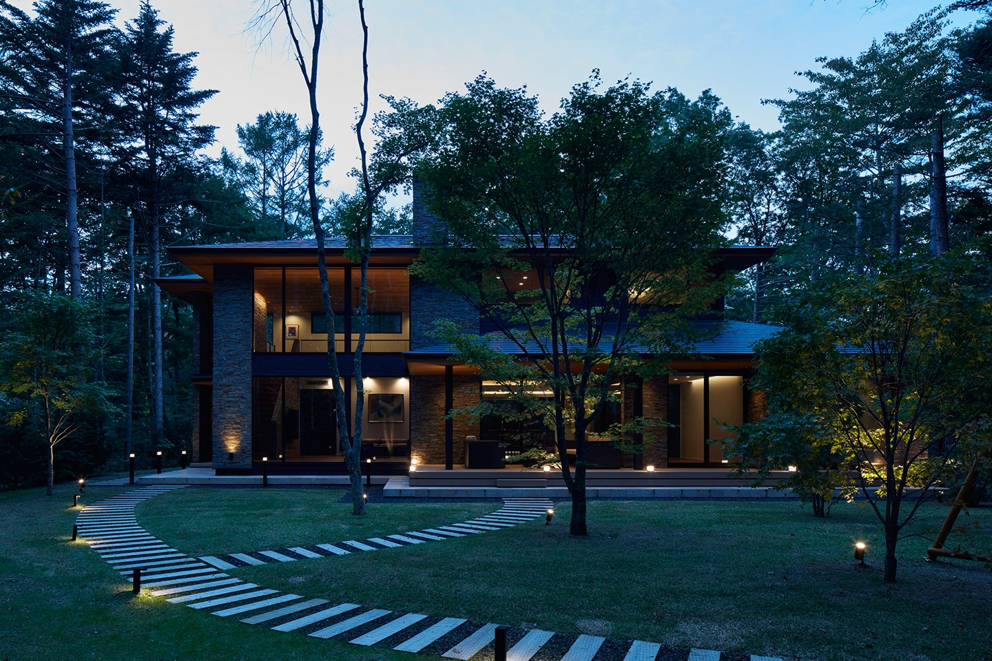 Villa In Forest 14
