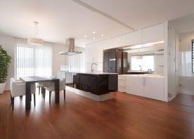 キッチンを中心とした暮らしをデザイン