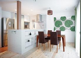 築40年の家屋を一新。北欧風の明るくモダンな空間に