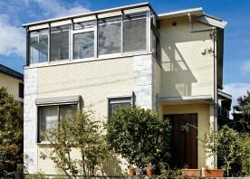 1階を増築、居室も収納も増やせて、サンルームも誕生