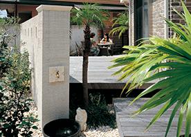 塀のデザインで決まる庭の見せ方/隠し方