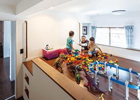 子どもとともに成長する部屋