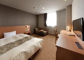 各フロアで雰囲気が異なる客室のあるホテル