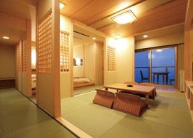 自然の美しさを最大限にいかし、ゆったりと時が流れる客室にリフォーム