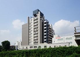 築42年RC造11階建てマンションの大規模修繕工事