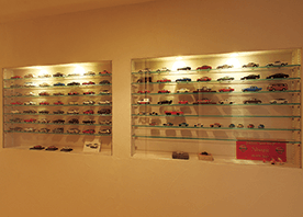 わが家の技ありリフォーム 「壁」の厚さを利用して、コレクションスペースをつくる