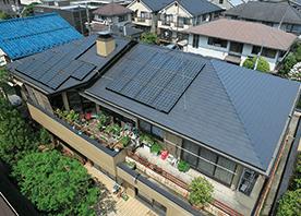 我が家の小さな発電所 「太陽光発電システム」