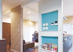 子供の成長を見守る、広々LDK+子供室