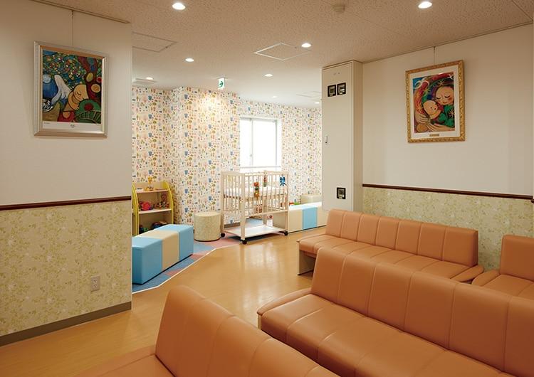 小児科・待合室~プレイコーナー