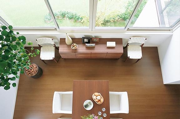 ライフスタイルにあわせたデザインが 快適な住まいを実現します