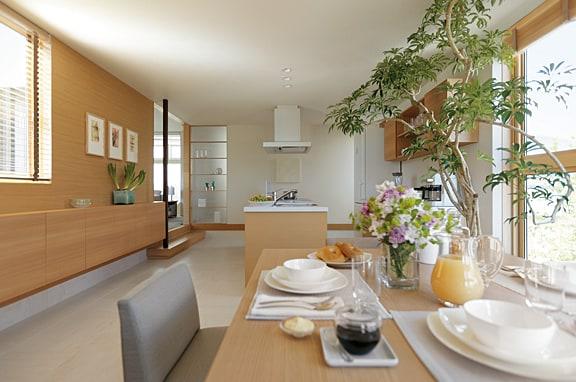 家事の時間を短縮する キッチンレイアウト