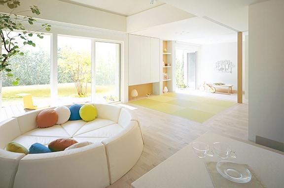 現代の住まいに合わせて 和室をリフォーム